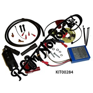 BOYER MICRO POWER IGNITION KITS WITH COILS, ATLAS/COMMANDO