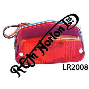 REAR LIGHT, FEATHERBED TYPE