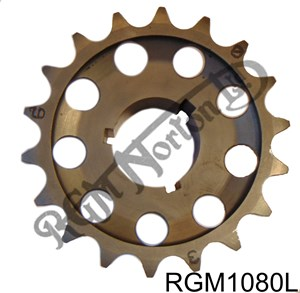 SPECIAL CAMSHAFT SPROCKET LESS WEIGHT AND ADJUSTABLE TIMING