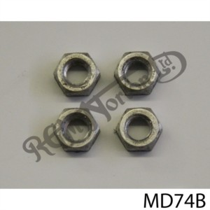 DURAL NUTS FOR ROCKER ADJUSTER SET (4)