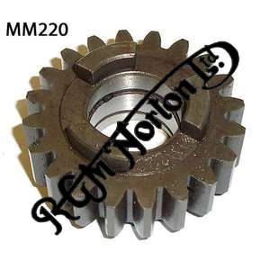 CLOSE RATIO MAINSHAFT SECOND GEAR 20 TEETH (MANX)