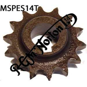 ENGINE SPROCKET, SINGLES, 14 TEETH, TOOTH POSITION MIDDLE