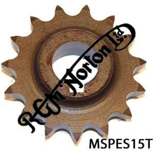 ENGINE SPROCKET, SINGLES, 15 TEETH, TOOTH POSITION MIDDLE