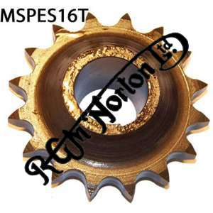 ENGINE SPROCKET, SINGLES, 16 TEETH, TOOTH POSITION MIDDLE