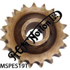 ENGINE SPROCKET, SINGLES, 19 TEETH, TOOTH POSITION MIDDLE