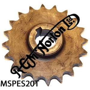 ENGINE SPROCKET, SINGLES, 20 TEETH, TOOTH POSITION MIDDLE