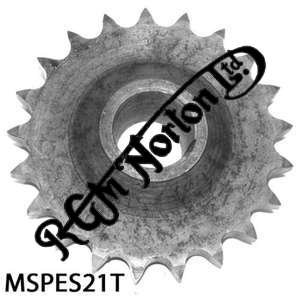 ENGINE SPROCKET, SINGLES, 21 TEETH, TOOTH POSITION MIDDLE