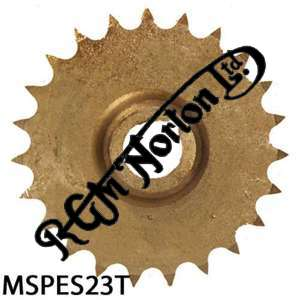 ENGINE SPROCKET, SINGLES, 23 TEETH, TOOTH POSITION MIDDLE