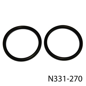 FEATHERBED ALLOY OIL TANK RUBBER RETAINING RINGS/BANDS (PR)
