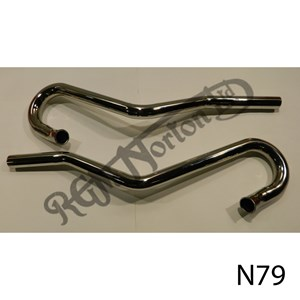 EXHAUST PIPES (PAIR) HIGH LEVEL P11 (1 5/8)