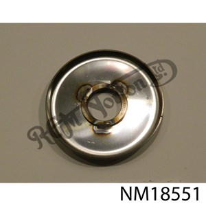FRONT WHEEL PINCH SIDE DUST COVER, STAINLESS