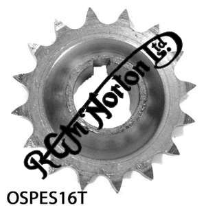 ENGINE SPROCKET, SINGLES, 16 TEETH, TOOTH POSITION OUT