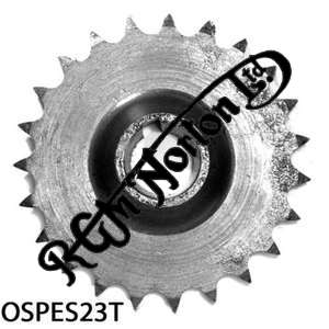 ENGINE SPROCKET, SINGLES, 23 TEETH, TOOTH POSITION OUT