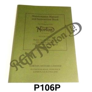 MAINTENANCE MANUAL & INSTRUCTION BOOK FOR MODELS 50, ES2, 88, 99, 650SS, 750 ATL