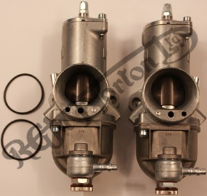 32MM AMAL PREMIER MK1 CONCENTRIC CARBS (MATCHED PAIRS)
