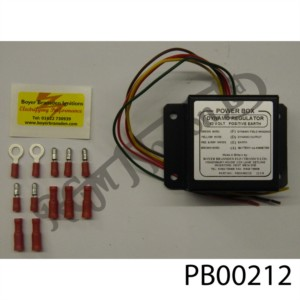 DYNAMO REGULATOR 12 VOLT POSITIVE EARTH