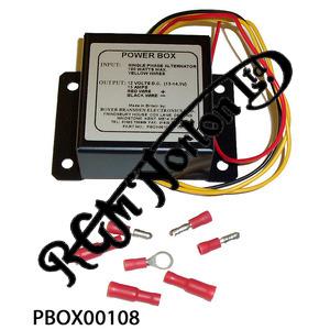 BOYER POWERBOX REPLACES ZENER DIODES, RECTIFIER, 2MC ETC. SINGLE PHASE