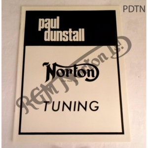 DUNSTALL TUNING NOTES