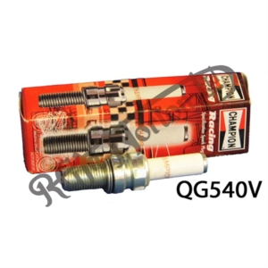 CHAMPION QG540V PLATINUM RACE SPARK PLUG, 10 X 19MM