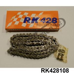 RK (TAKASAGO) MADE IN JAPAN 428 - 108 LINKS CHAIN