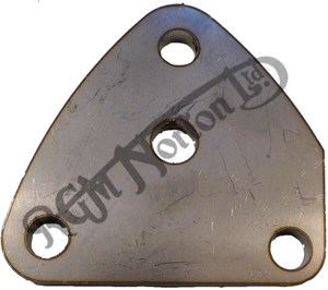 REARSET FOOTREST RIGHTHAND MOUNTING PLATE COMMANDO