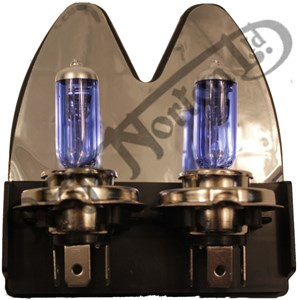 XENON REPLACEMENT HEADLAMP BULB, 30% BRIGHTER (REPLACES HALOGEN) PACK OF 2