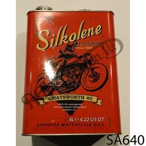 SILKOLENE CHATSWORTH 40 MONOGRADE (DETERGENT) 4 LITRE