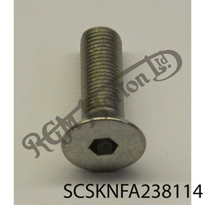 "3/8"" UNF X 1 1/4"" LONG COUNTERSUNK SOCKET SCREW"