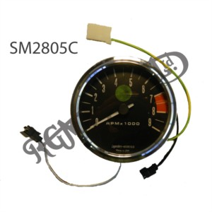 ELECTRONIC ANALOG TACHOMETER COMPLETE WITH MOUNTS