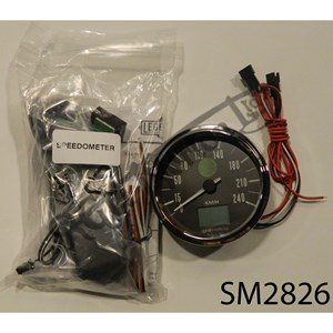 GPS ELECTRONIC ANALOG SPEEDOMETER, KPH