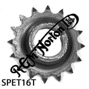 TWIN CYLINDER PRE COMMANDO ENGINE SPROCKET, TWINS, 16 TEETH