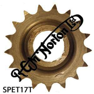 TWIN CYLINDER PRE COMMANDO ENGINE SPROCKET, TWINS, 17 TEETH