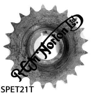 TWIN CYLINDER PRE COMMANDO ENGINE SPROCKET, TWINS, 21 TEETH