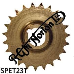 TWIN CYLINDER PRE COMMANDO ENGINE SPROCKET, TWINS, 23 TEETH
