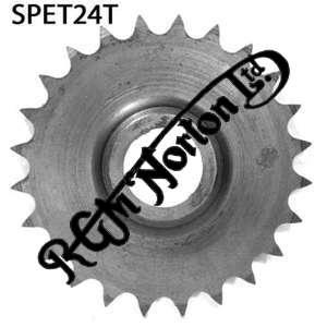 TWIN CYLINDER PRE COMMANDO ENGINE SPROCKET, TWINS, 24 TEETH