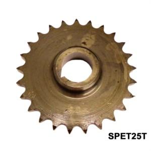 TWIN CYLINDER PRE COMMANDO ENGINE SPROCKET, TWINS, 25 TEETH