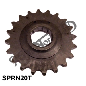 "COMMANDO GEARBOX SPROCKET 20 TEETH 5/8"" X 3/8"""