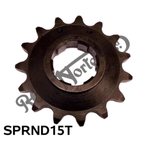 "AMC GEARBOX SPROCKET 15 TEETH 5/8"" X 1/4"""