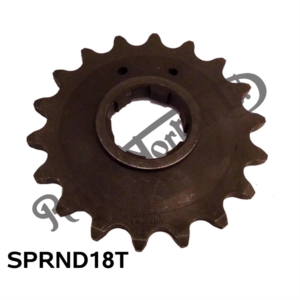 "AMC GEARBOX SPROCKET 18 TEETH 5/8"" X 1/4"""