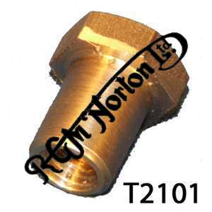 CRANKCASE OIL UNION SLEEVE NUT, PRE 1970