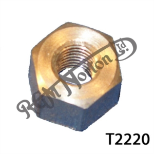 "1/4"" BSC THICK WALLED NUT FOR MANIFOLD STUD"