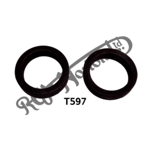 HEADLAMP BRACKET RUBBER SUPPORT RING, WASHER, FOR STEEL BRACKETS (PR)