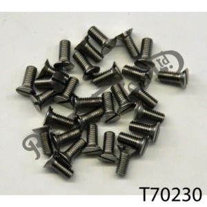 """3/16"""" X 32TPI IMPERIAL STAINLESS SCREW PACK [30]"""