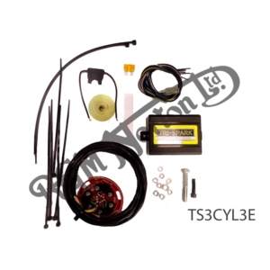TRI-SPARK ELECTRONIC IGNITION KIT TRIDENT & ROCKET 3 WITH REV LIMITER