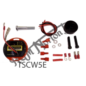 TRI-SPARK SELF TEST ELECTRONIC IGNITION KIT, CLOCKWISE ROTATION TRIUMPH & ATLAS