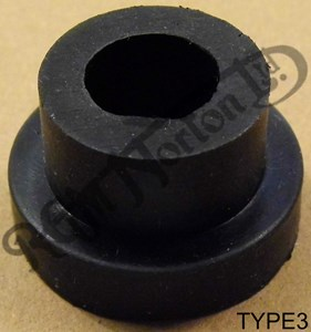 STEPPED/TOP HAT TANK MOUNTING RUBBER