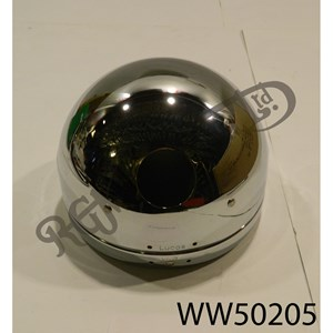 "5 3/4"" CHROME HEADLAMP SHELL"