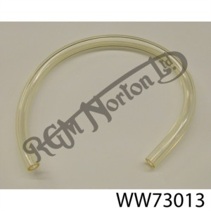 """1/4"""" CLEAR PVC HOSE FOR PETROL AND FUEL LINE (SOLD BY FOOT)"""