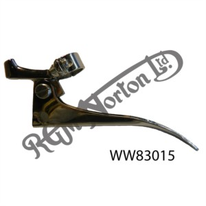 """CLUTCH LEVER, TRADITIONAL CHROME TYPE (7/8"""" FULCRUM DISTANCE)"""