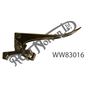 """BRAKE LEVER, TRADITIONAL CHROME TYPE (7/8"""" FULCRUM DISTANCE)"""